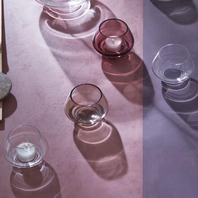 Holmegaard Flow Tealight Holder 10 cm