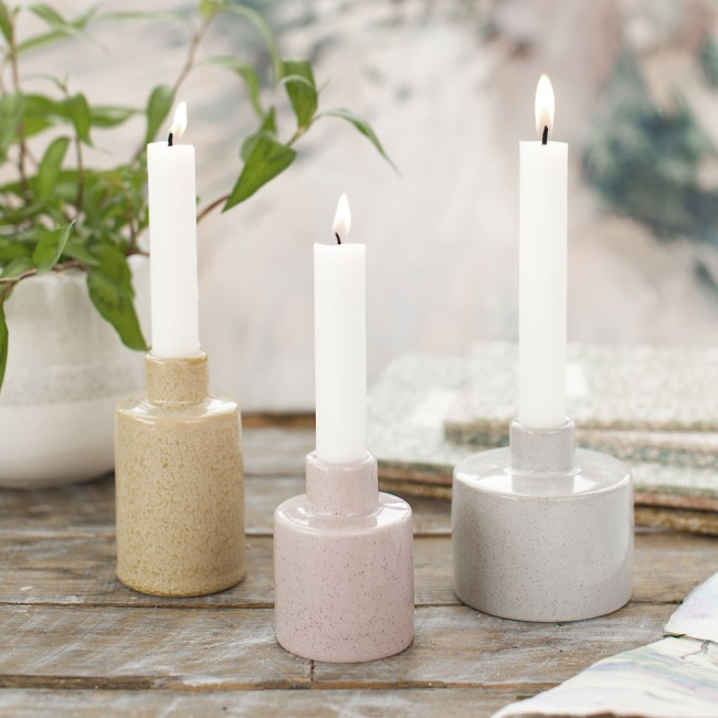 A Simple Mess Candleholder set