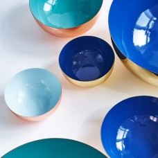 Louise Roe Metal Bowls