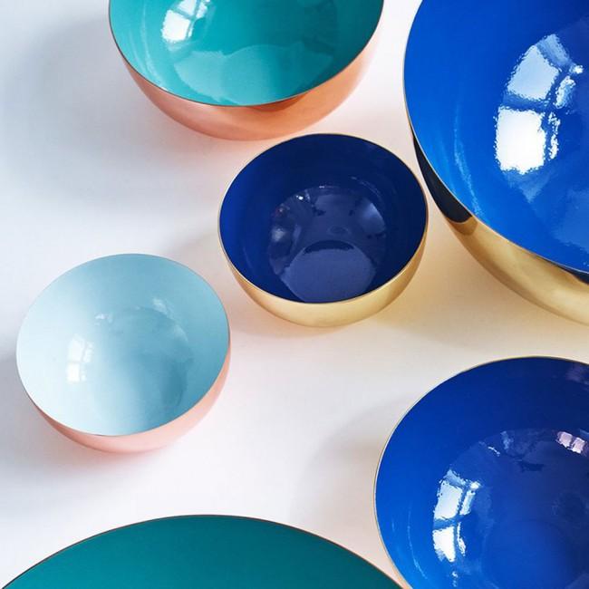 Louise Roe Metal Bowls