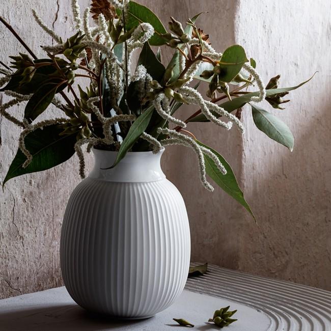 Lyngby Curve Vase H12 CM