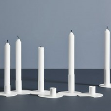 Woud cluster candle holders 3 pcs.