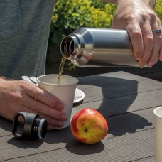 Termobottle with wireless speaker