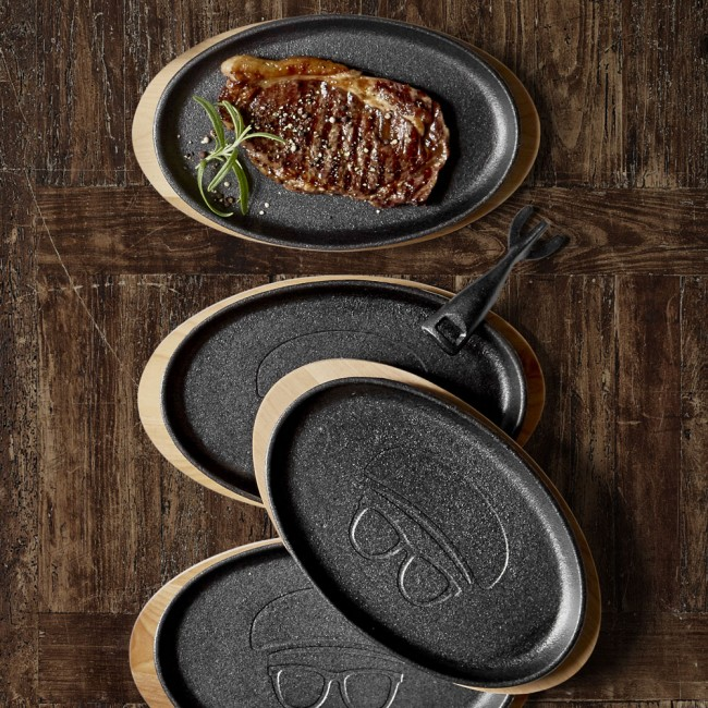 Holm Steak Plates