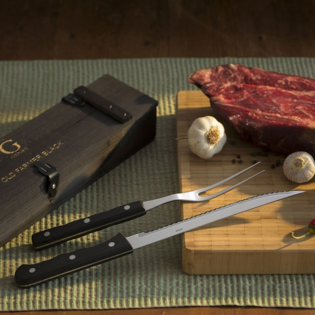 Gense Old farmer Carving set
