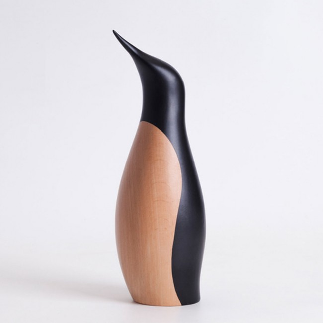 Architectmade Penguin large Beech Wood painted black