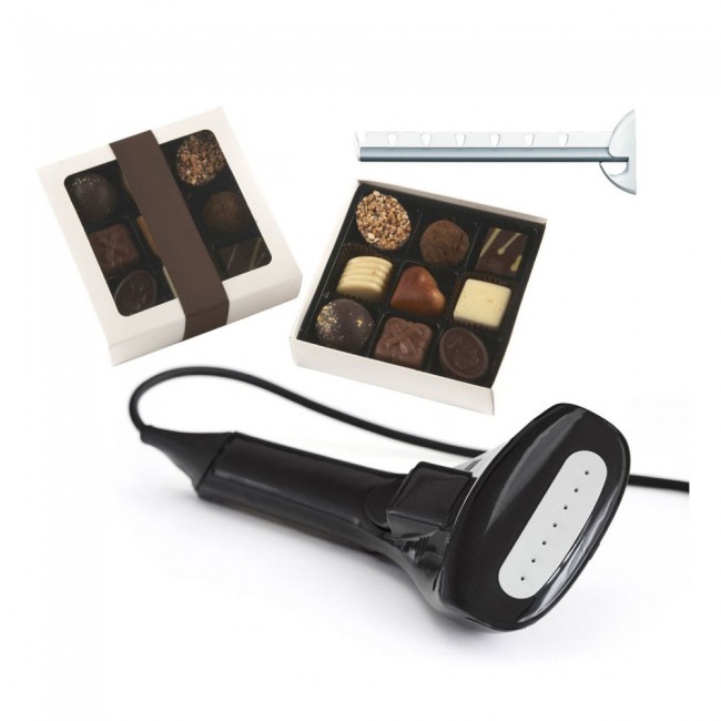 Function Handsteamer & Hanger mounts & Chocolate