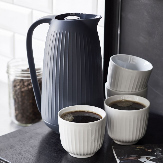Kähler Hammershøi Thermo Jug and 4 Cups