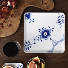 Royal Copenhagen Blue Mega Square Plate 20x20 cm