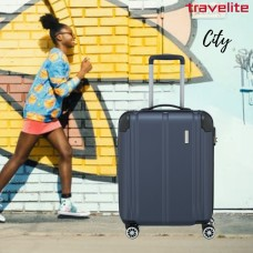 Travelite 4-hjulet trolley City small
