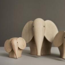 Woud Nunu Elephant, mini 8 cm
