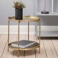 Broste Copenhagen side table in brass