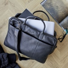 Corium Laptopbag genuine leather