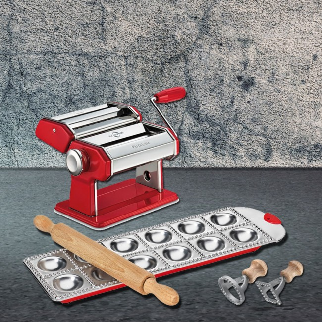 Küchenprofi Pasta machine with accessories