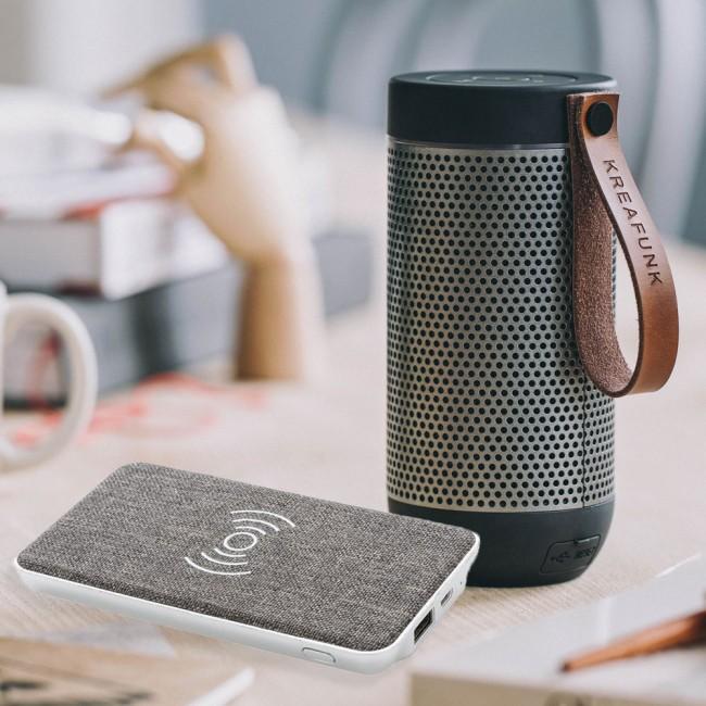 Kreafunk aFUNK bluetooth speaker & powerbank