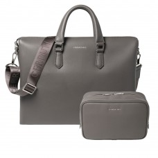 Cerutti bag with toilet bag