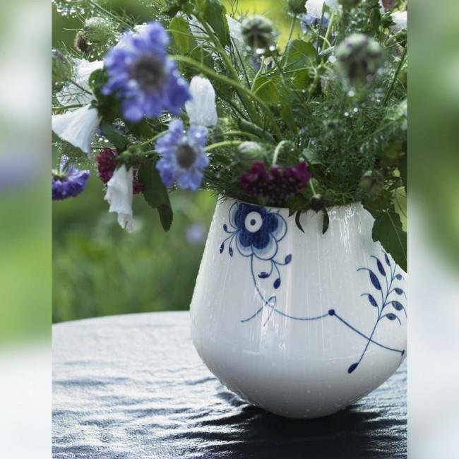 Royal Copenhagen Blue Mega Fluted Vase