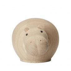 Woud Hibo Hippopotamus medium 11 cm