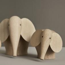 Woud Nunu Elefant, medium 16 cm
