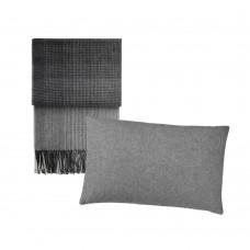 Elvang Horizon plaid og Classic pillow
