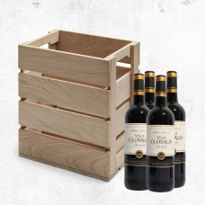 Skagerak Dania Wine Box & 4 bottles of wine