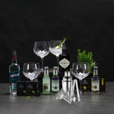 Gin with glass & bar set