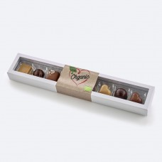 Organic luxury chocolates 8 pcs