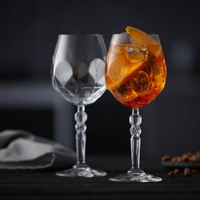 Lyngby Glass Aperol Alkemist glass set