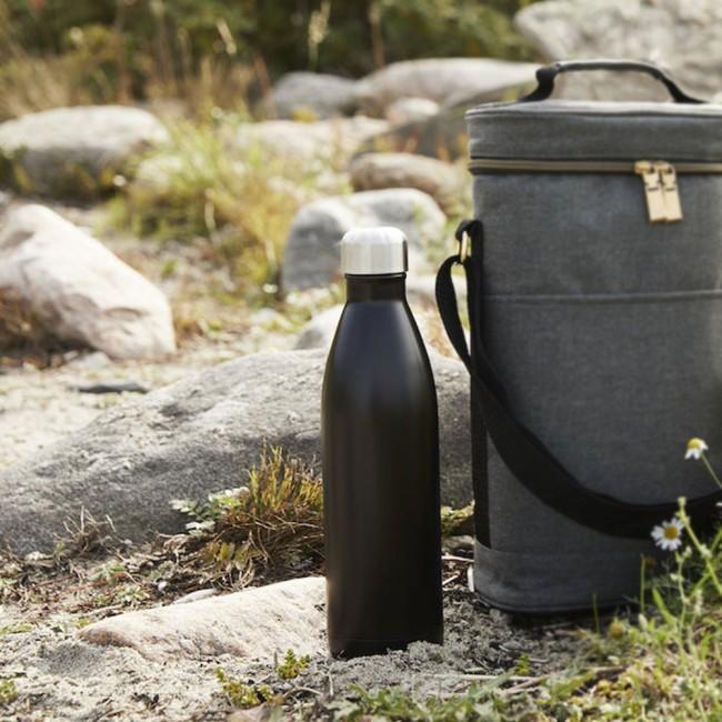 Sagaform steel bottle, 75 cl.