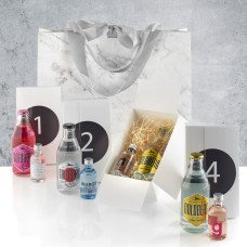 Advent calendar with gin and tonic