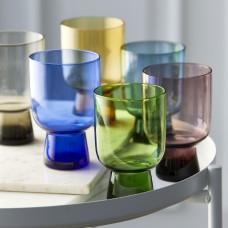 Lyngby Glass Tumbler set 6 pcs. multiple colours