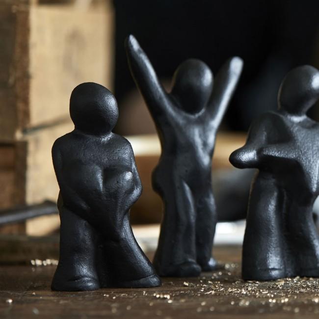 Morsø cast iron sculpture