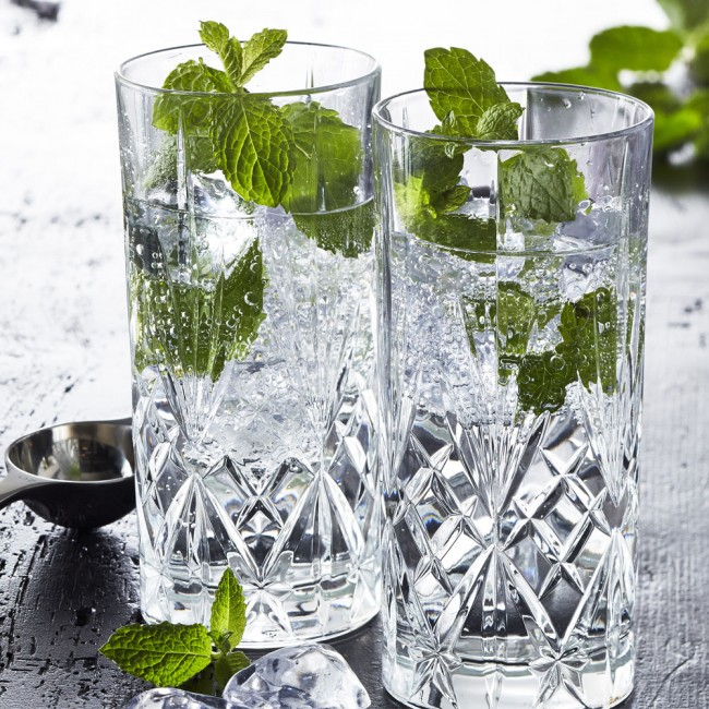 Lyngby Glass Melodia Highball glass set