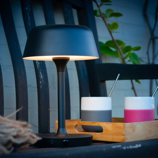 Dyberg Larsen Valencia Black Table Lamp