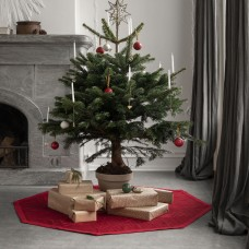 Georg Jensen Damask Christmas tree rug