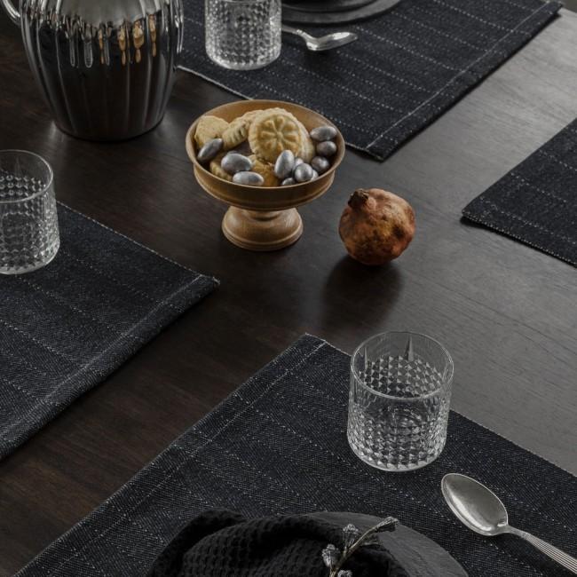 Georg Jensen Damask table mats and Black Label napkins