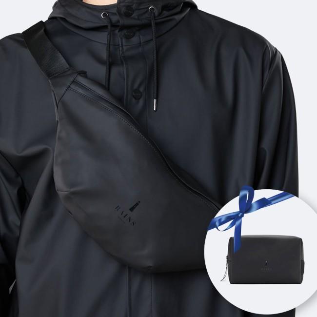 Rains Bumbag & Wash bag