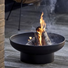 Scandinavia gift bonfire with round base