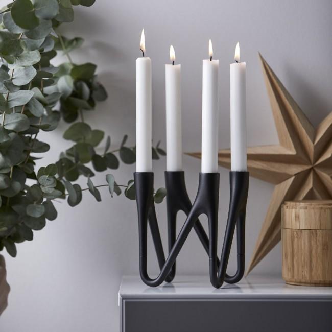 Morsø Roots Candle holder black