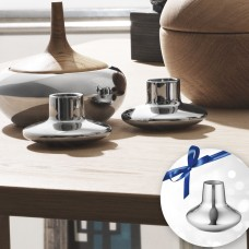 Georg Jensen Henning Koppel vase and candlesticks