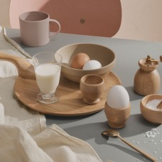 Kay Bojesen serveringsplatte og æggebægre