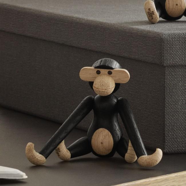 Kay Bojesen dark-stained Mini Monkey