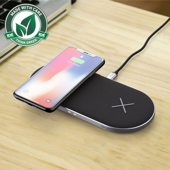 Sackit CHARGEit Dual Dock wireless charger