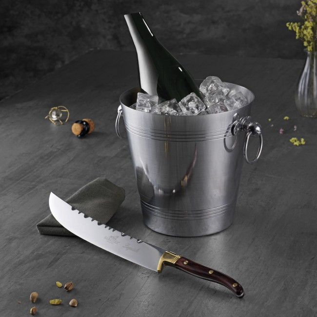 Sabatier champagne sword and wine cooler