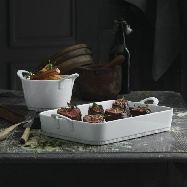 Pillivuyt Toulouse  lasagne dish and bowl with handles