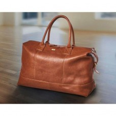 Bon Gout Travelling bag in soft tanned buffalo leather