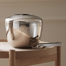 Georg Jensen SKY ice bucket and ice pliers
