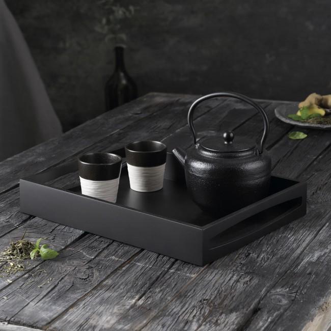 Bredemeijer Pucheng tea pot, tray & Costa Nova notos cups