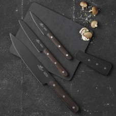 Epicurean Serving Tray & Sabatier Phenix Knife Set, 3 Parts
