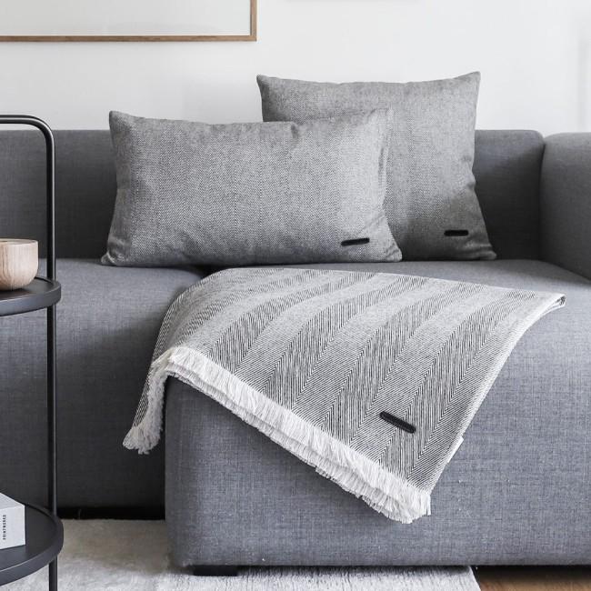 Andersen Furniture Twill Weave plaid og puder
